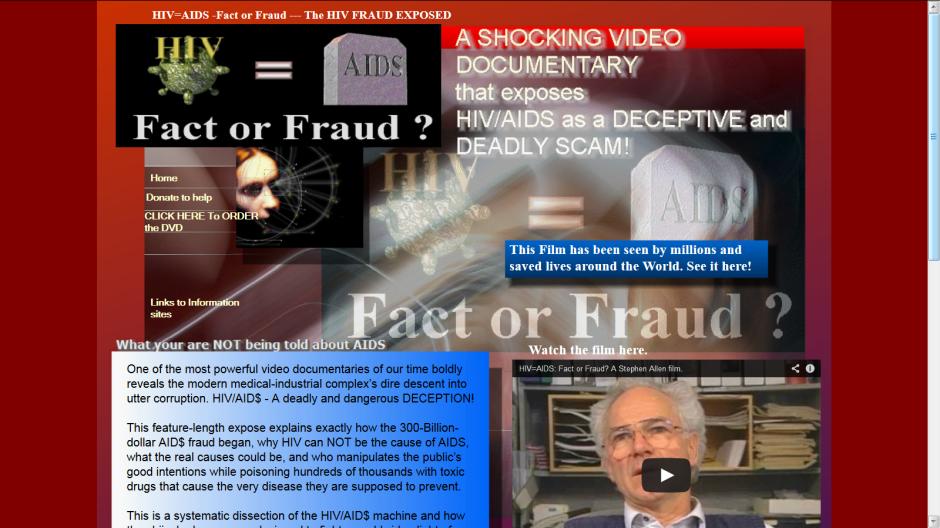 aids fraud screen
